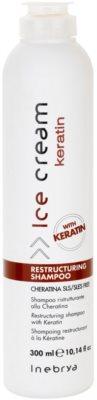 Inebrya Keratin Sampon restructurare cu keratina