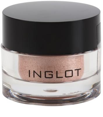 Inglot AMC sombras de ojos en polvo suelto con alta pigmentación