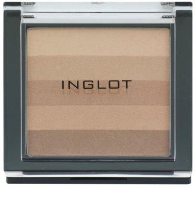 Inglot AMC різнокольорова пудра-бронзатор
