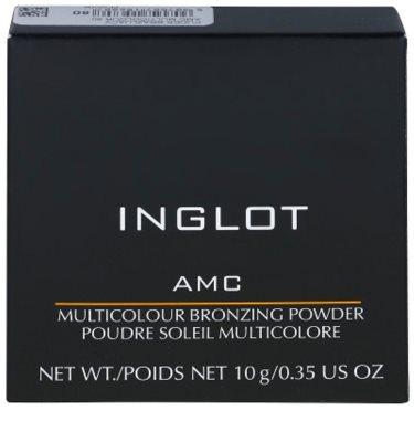 Inglot AMC mehrfarbiger bronzierender Puder 2