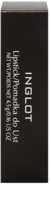 Inglot Basic hidratáló rúzs E-vitaminnal 4