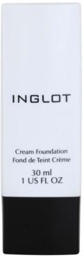 Inglot Basic Maquilhagem duradoura cremosa