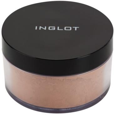 Inglot Basic matující sypký pudr pro dokonalou fixaci make-upu