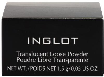 Inglot Basic прозрачна насипна пудра 3