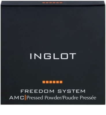 Inglot Freedom System AMC polvos compactos 1