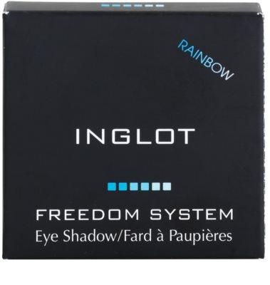 Inglot Freedom System Rainbow райдужні тіні для повік 1