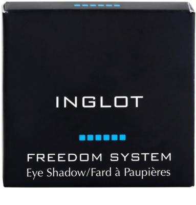 Inglot Freedom System sombra de olho com brilho extra 1
