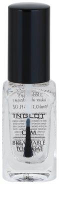 Inglot O₂M Lack-Finish für die Fingernägel