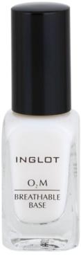 Inglot O₂M Basislack für Fingernägel