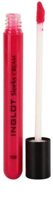 Inglot Sleeks Cream brillo de labios con efecto humectante 1