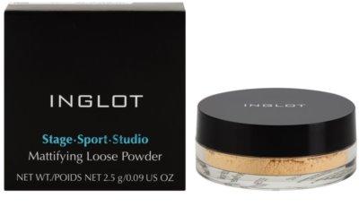 Inglot Stage Sport Studio loser, mattierender Puder 1