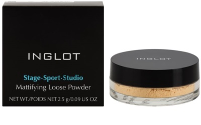 Inglot Stage Sport Studio polvos sueltos matificantes 1