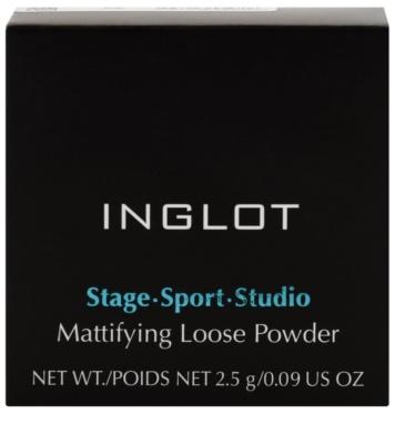 Inglot Stage Sport Studio polvos sueltos matificantes 3