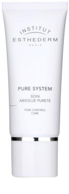 Institut Esthederm Pure System creme matificante com efeito hidratante