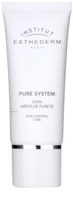 Institut Esthederm Pure System matirajoča krema z vlažilnim učinkom
