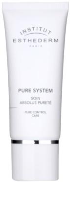 Institut Esthederm Pure System матуючий крем із зволожуючим ефектом