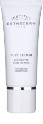Institut Esthederm Pure System concentrado  para alisar la piel y minimizar los poros