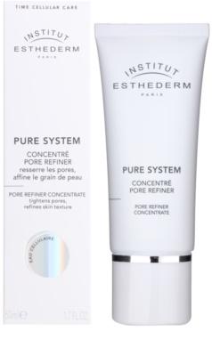 Institut Esthederm Pure System concentrat pentru netezirea pielii si inchiderea porilor 1