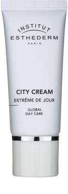 Institut Esthederm City Cream védő nappali krém a negatív környezeti hatások ellen