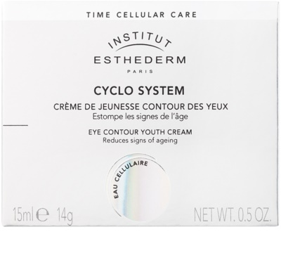 Institut Esthederm Cyclo System crema de întinerire pentru ochi ce ofera stralucire și regenerare 2
