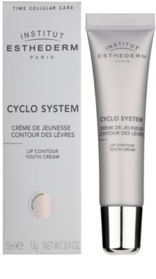 Institut Esthederm Cyclo System verjüngende Creme für die Lippenkonturen 1