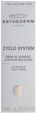 Institut Esthederm Cyclo System verjüngende Creme für die Lippenkonturen 2
