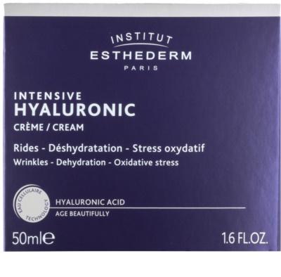 Institut Esthederm Intensive Hyaluronic krema za obraz z vlažilnim učinkom 2