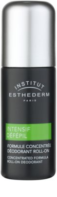 Institut Esthederm Intensive Défépil desodorizante roll-on para retardar o crescimento do cabelo.