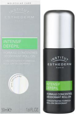 Institut Esthederm Intensive Défépil desodorizante roll-on para retardar o crescimento do cabelo. 1