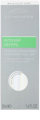 Institut Esthederm Intensive Défépil desodorizante roll-on para retardar o crescimento do cabelo. 2