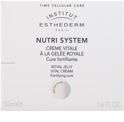Institut Esthederm Nutri System nährende Creme mit Gelée Royal 2