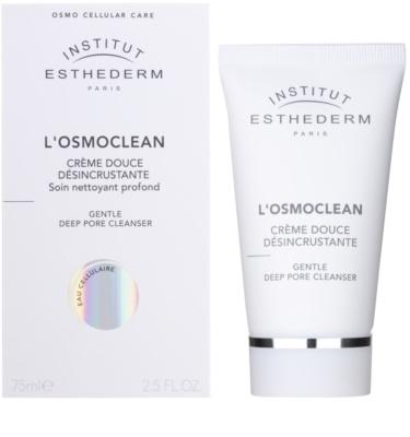 Institut Esthederm Osmoclean sanfte Reinigungscreme für verstopfte Poren 1