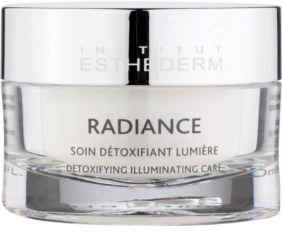 Institut Esthederm Radiance creme contra os primeiros sinais de envelhecimento para iluminar e alisar pele