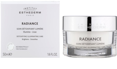 Institut Esthederm Radiance krém az öregedés első jelei ellen az élénk és kisimított arcbőrért 1