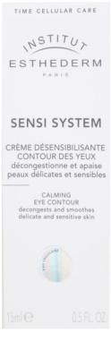Institut Esthederm Sensi System nyugtató krém a szem köré 2