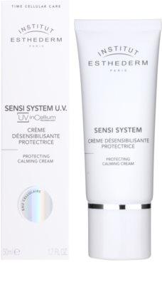 Institut Esthederm Sensi System crema de día para neutralizar la irritación de la piel sensible 1