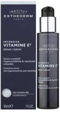 Institut Esthederm Intensive Vitamine E magasan koncentrált mélyhidratáló arcszérum az érzékeny bőr védelméért 1
