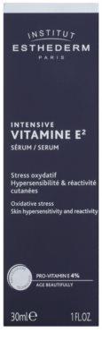 Institut Esthederm Intensive Vitamine E magasan koncentrált mélyhidratáló arcszérum az érzékeny bőr védelméért 2