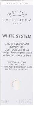 Institut Esthederm White System creme de olhos antirrugas, anti-olheiras, anti-inchaços 2