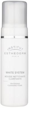 Institut Esthederm White System espuma limpiadora con efecto blanqueador