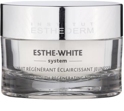 Institut Esthederm Esthe-White System éjszakai fehérítő krém regeneráló hatással