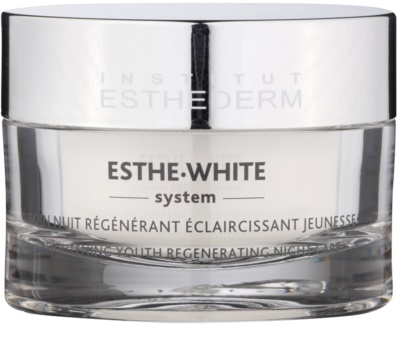 Institut Esthederm Esthe-White System nočna belilna krema z regeneracijskim učinkom