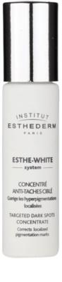 Institut Esthederm Esthe-White System bleichender Schaum für die lokale Behandlung