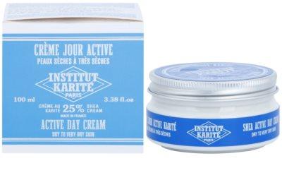 Institut Karité Paris Active денний зволожуючий та захисний крем для сухої та дуже сухої шкіри 3