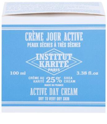 Institut Karité Paris Active денний зволожуючий та захисний крем для сухої та дуже сухої шкіри 5
