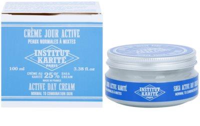 Institut Karité Paris Active nappali hidratáló és ápoló krém normál és kombinált bőrre 2