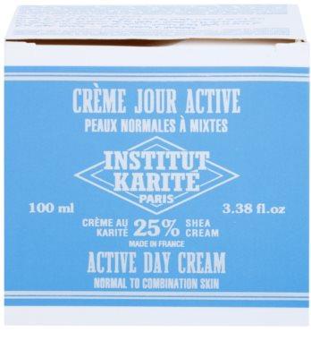 Institut Karité Paris Active nappali hidratáló és ápoló krém normál és kombinált bőrre 5