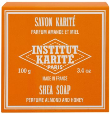 Institut Karité Paris Almond & Honey mydło w kostce z masłem shea