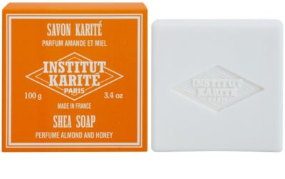 Institut Karité Paris Almond & Honey jabón sólido con manteca de karité 1