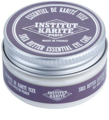 Institut Karité Paris Anti-Age crema para contorno de ojos con aceites esenciales